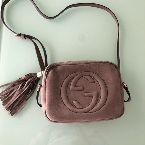 Gucci Handbags - Gucci Soho Disco Bag newbuck/brown/tan